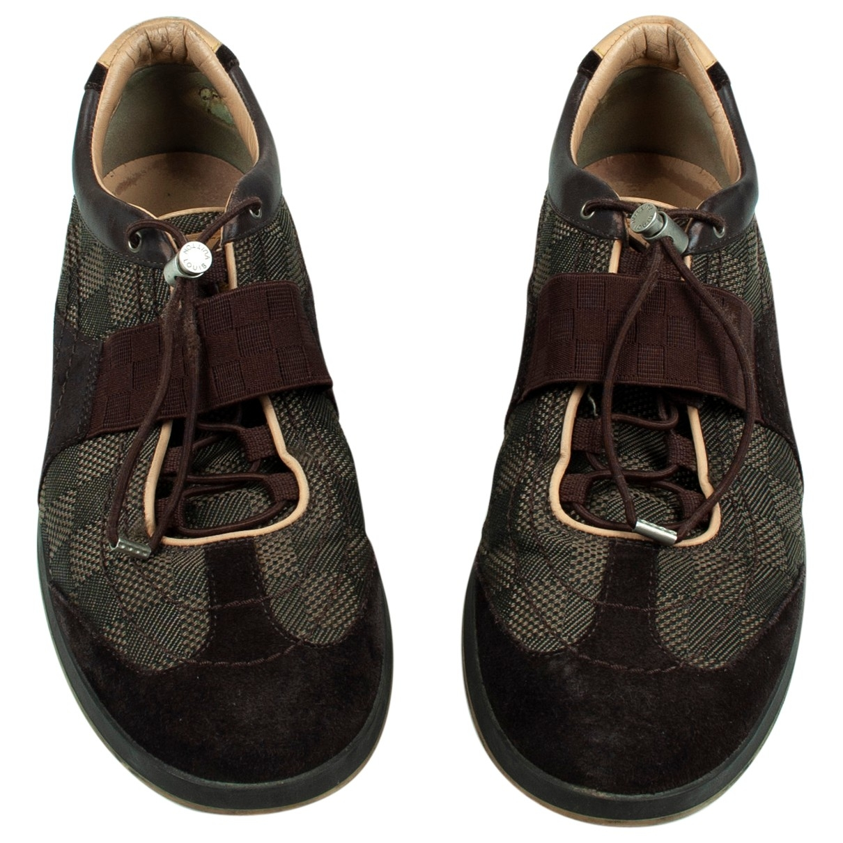Louis Vuitton \N Brown Cloth Trainers for Men 8 US