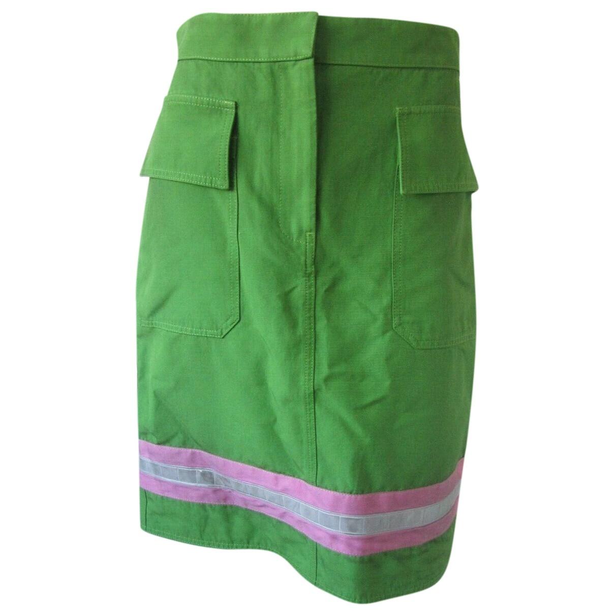Calvin Klein 205w39nyc - Jupe   pour femme en coton - vert