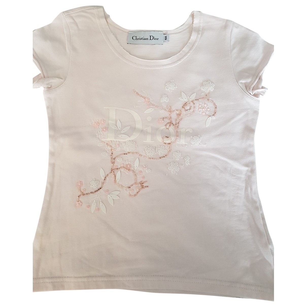 Dior \N Pink Cotton  top for Kids 6 years - up to 114cm FR