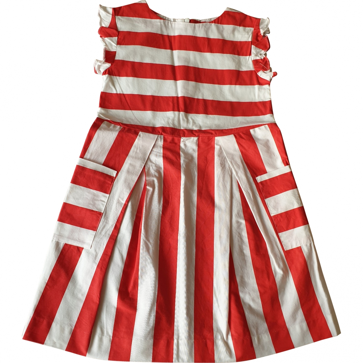 Jacadi \N Red Cotton dress for Kids 6 years - up to 114cm FR