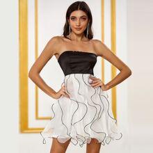 DKRX Kleid mit Raffung