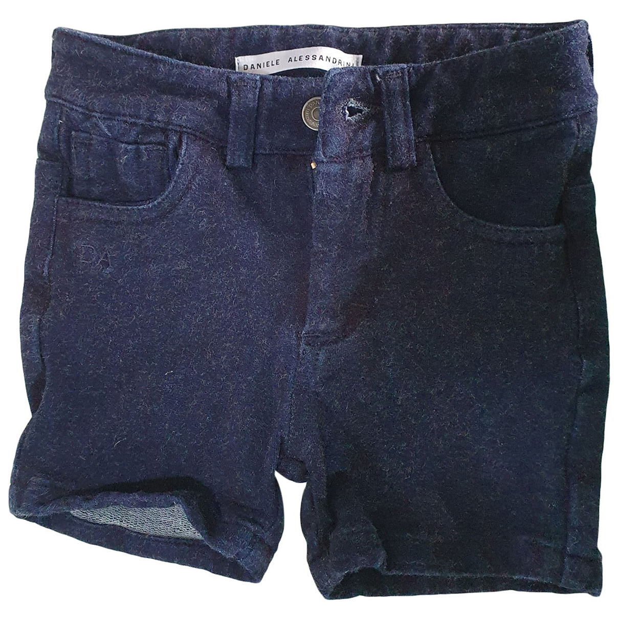 Daniele Alessandrini N Blue Denim - Jeans Shorts for Kids 6 months - up to 67cm FR