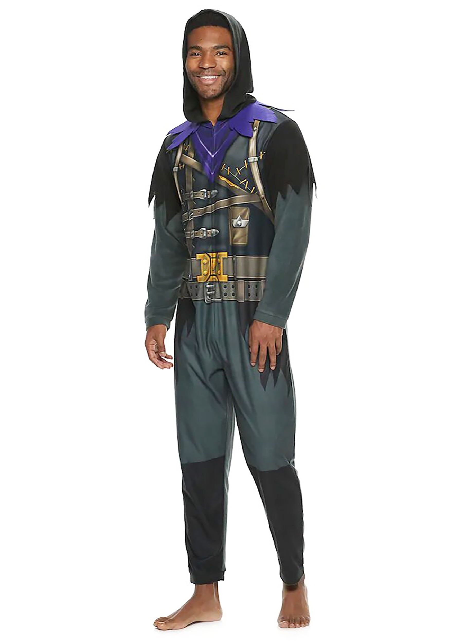 Fortnite Raven Union Suit for Adults