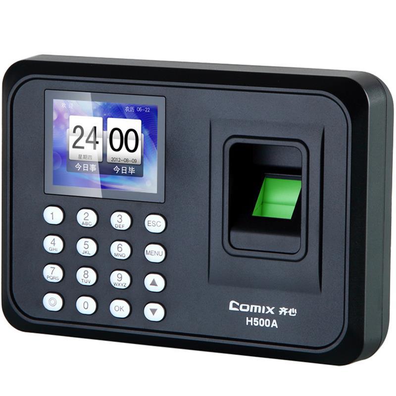 Comix H500A Biometric Fingerprint+Password Recognition Office Attendance Machine Sensor Recorder Access Control System E