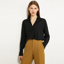 AMII Drop Shoulder Solid Top