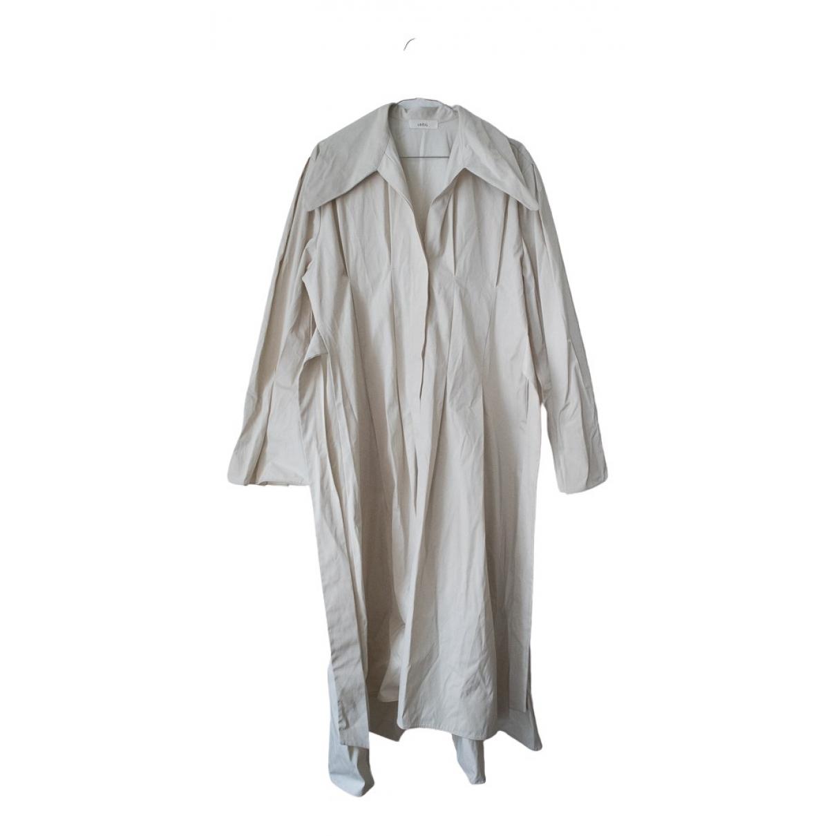 Loeil - Manteau   pour femme en coton - beige
