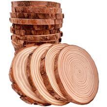 10 Stuecke DIY Handzeichnung Holzstueck