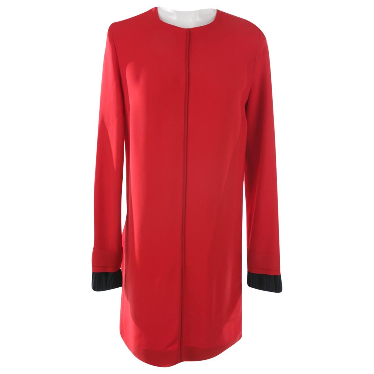 Victoria Beckham \N Kleid in  Rot Viskose