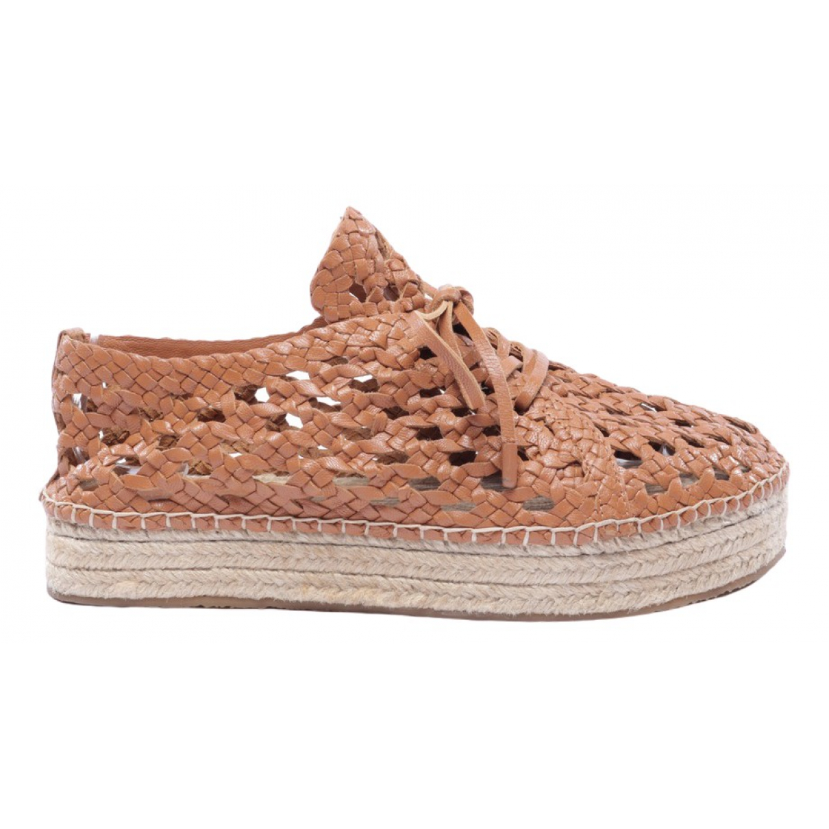 Zimmermann \N Brown Leather Trainers for Women 41 EU