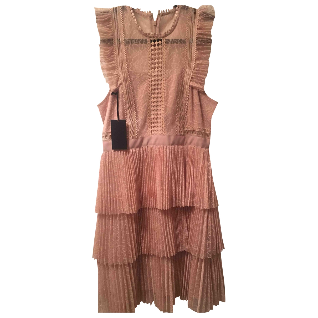 Whistles \N Pink Lace dress for Women 10 UK