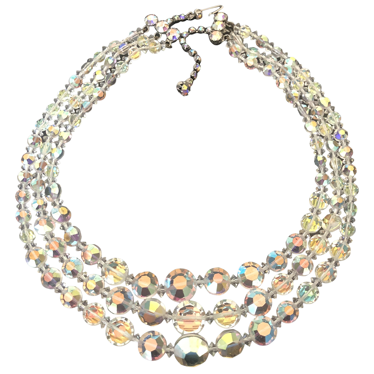 Non Signé / Unsigned \N Multicolour Crystal necklace for Women \N