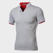 Men Letter Graphic Polo Shirt