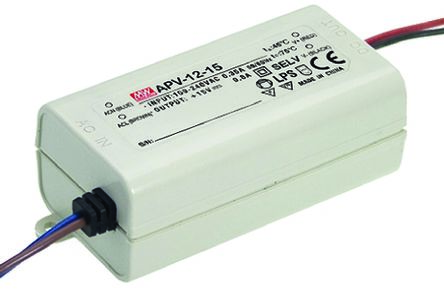 Mean Well Constant Voltage LED Driver 12W 15V