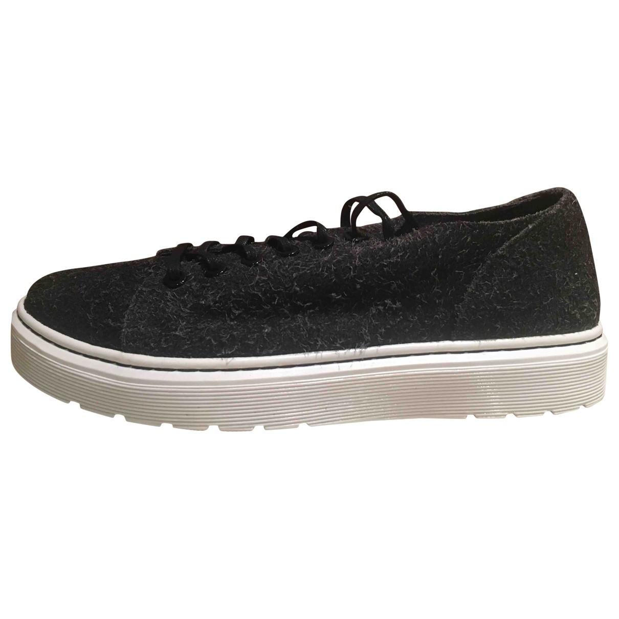 Dr. Martens \N Sneakers in  Anthrazit Leder