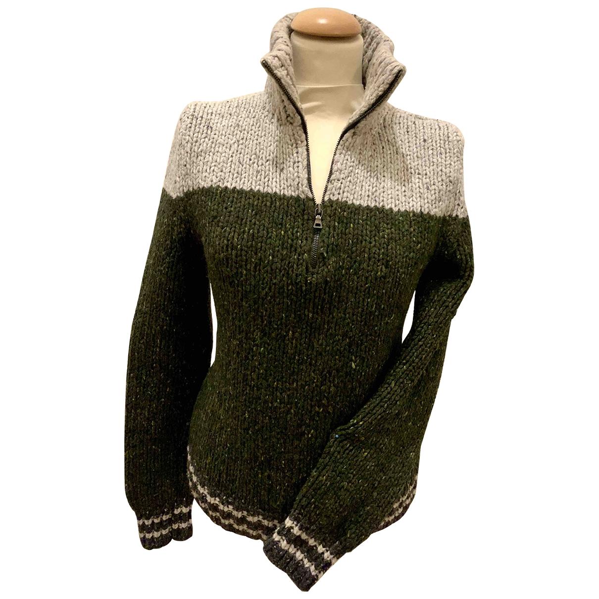 Prada - Pull   pour femme en laine - multicolore