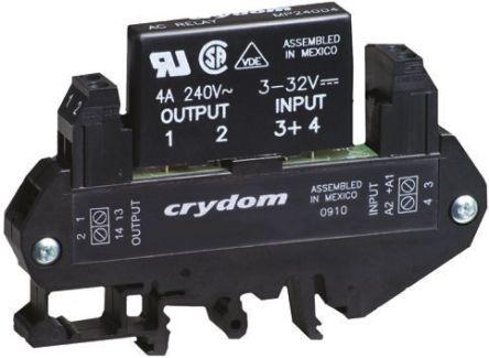 Sensata / Crydom 3 A rms Solid State Relay, Zero Cross, DIN Rail, 280 V Maximum Load