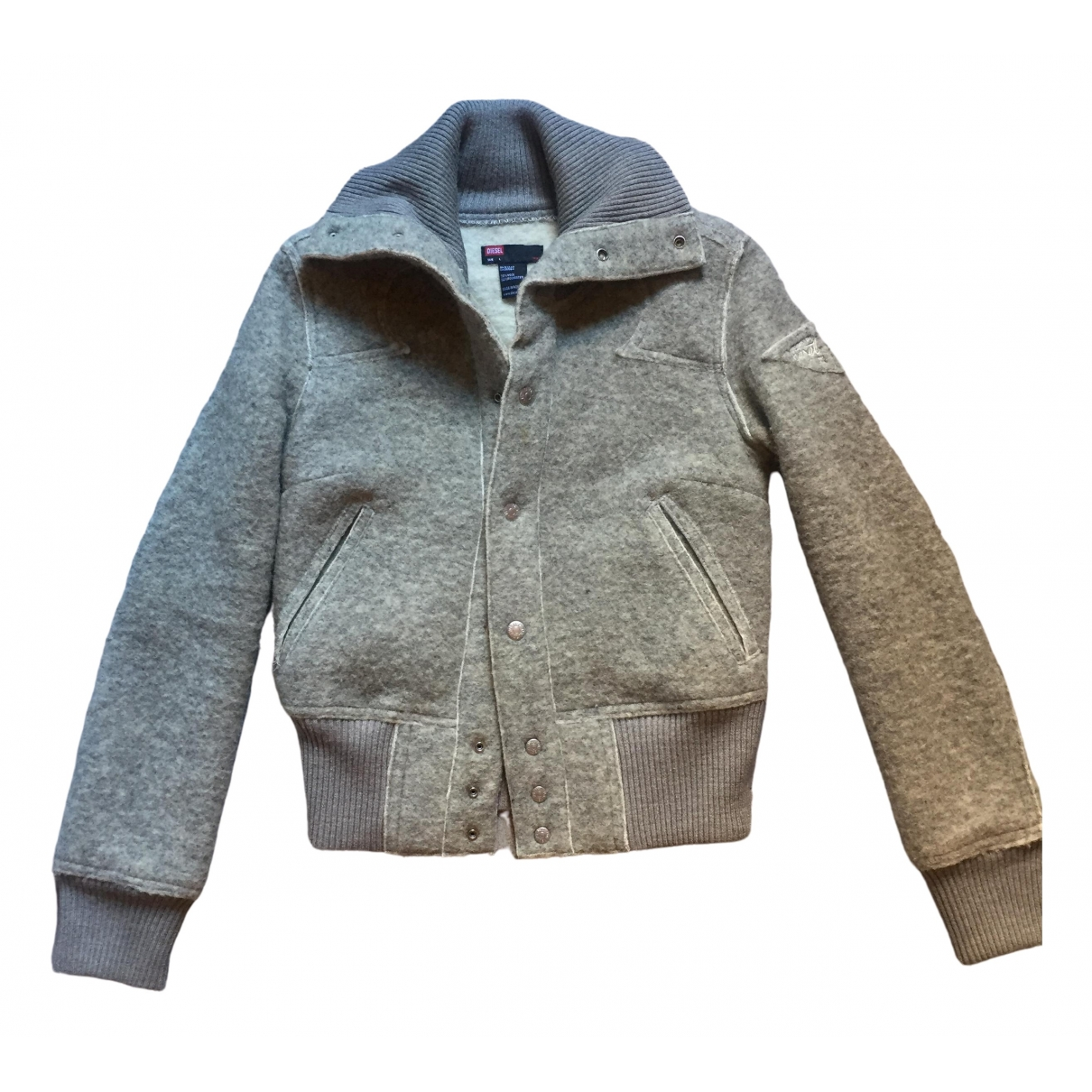Diesel \N Grey Wool jacket for Women L International