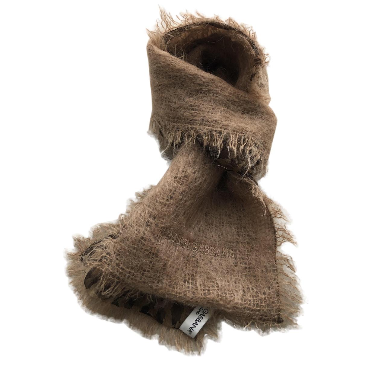 Dolce & Gabbana N Camel Wool scarf for Women N