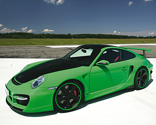 TechArt 097.100.054.009 GTstreet Aero Kit Porsche 997.2 Turbo Coupe 10-12