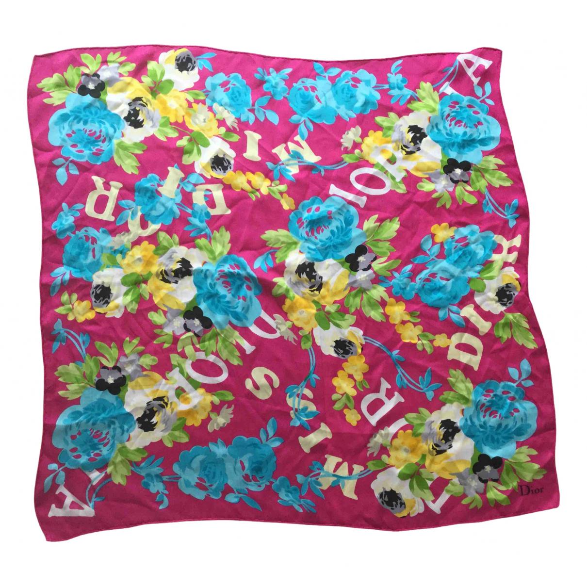Dior \N Multicolour Silk scarf for Women \N