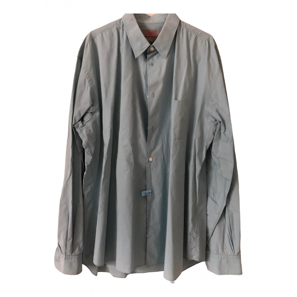 Comme Des Garcons X H&m - Chemises   pour homme en coton - vert