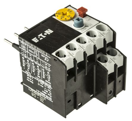 Eaton Overload Relay - NO/NC, 0.4 → 0.6 A F.L.C, 600 mA Contact Rating, 6 W, 600 V ac