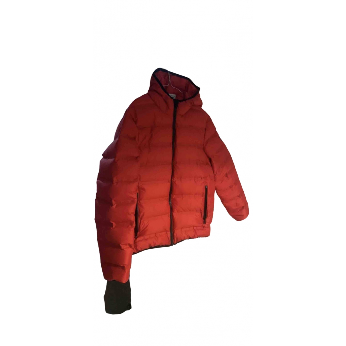 Armani Jeans \N Jacke in  Rot Polyester