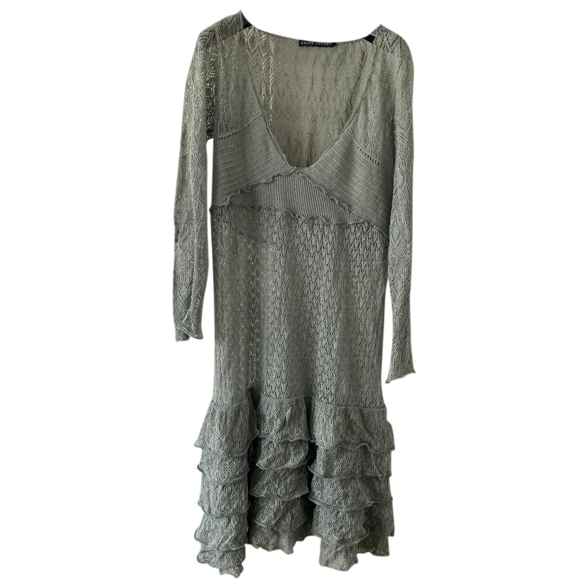 Ralph Lauren N Green Linen dress for Women L International