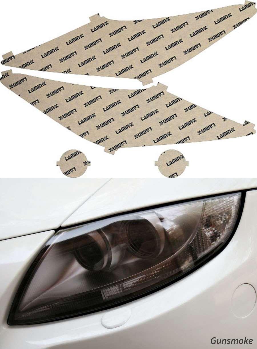 Acura ZDX 10-13 Gunsmoke Headlight Covers Lamin-X AC021G