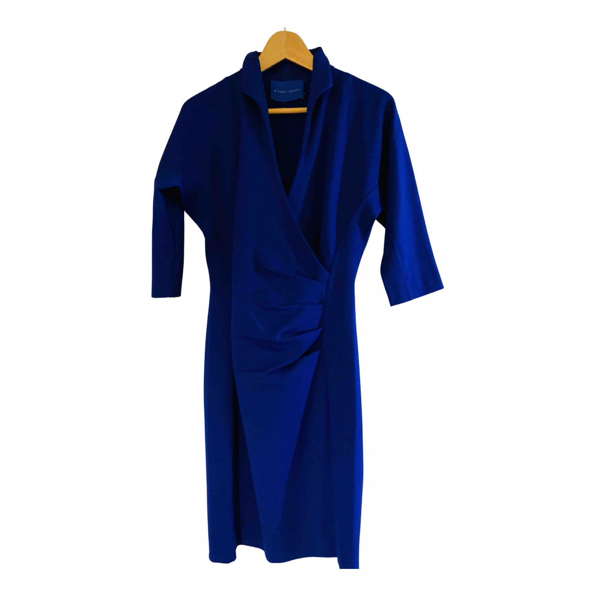 Non Signé / Unsigned \N Blue dress for Women 8 UK