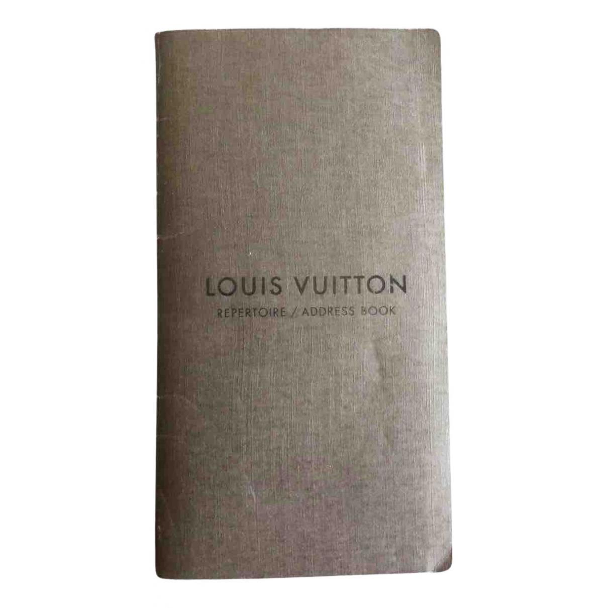 Louis Vuitton - Objets & Deco   pour lifestyle en coton - beige