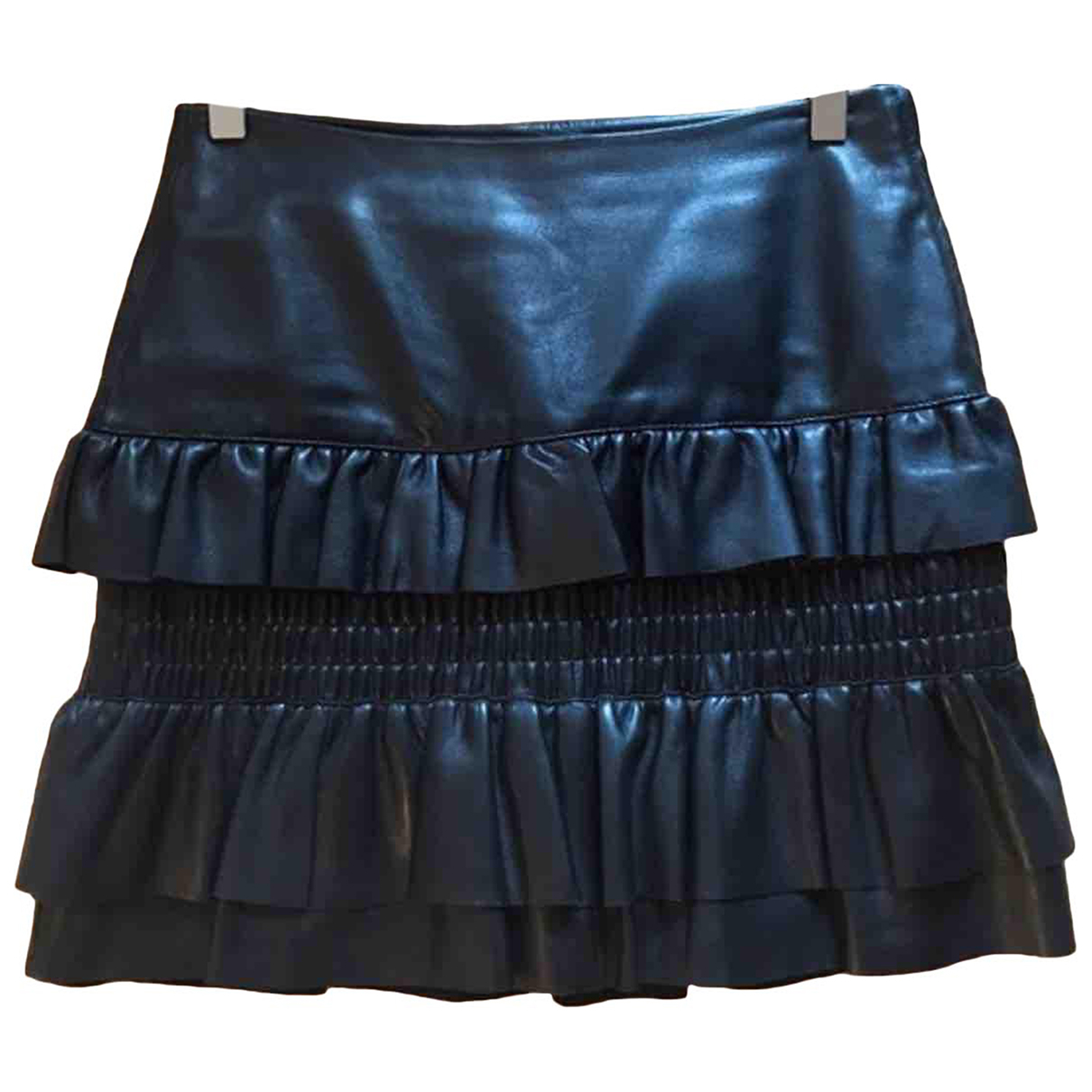 Mini falda de Cuero Maje
