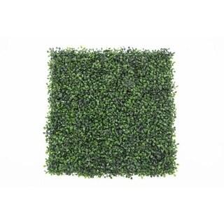 Artificial Boxwood Hedge Greenery Panels, 20