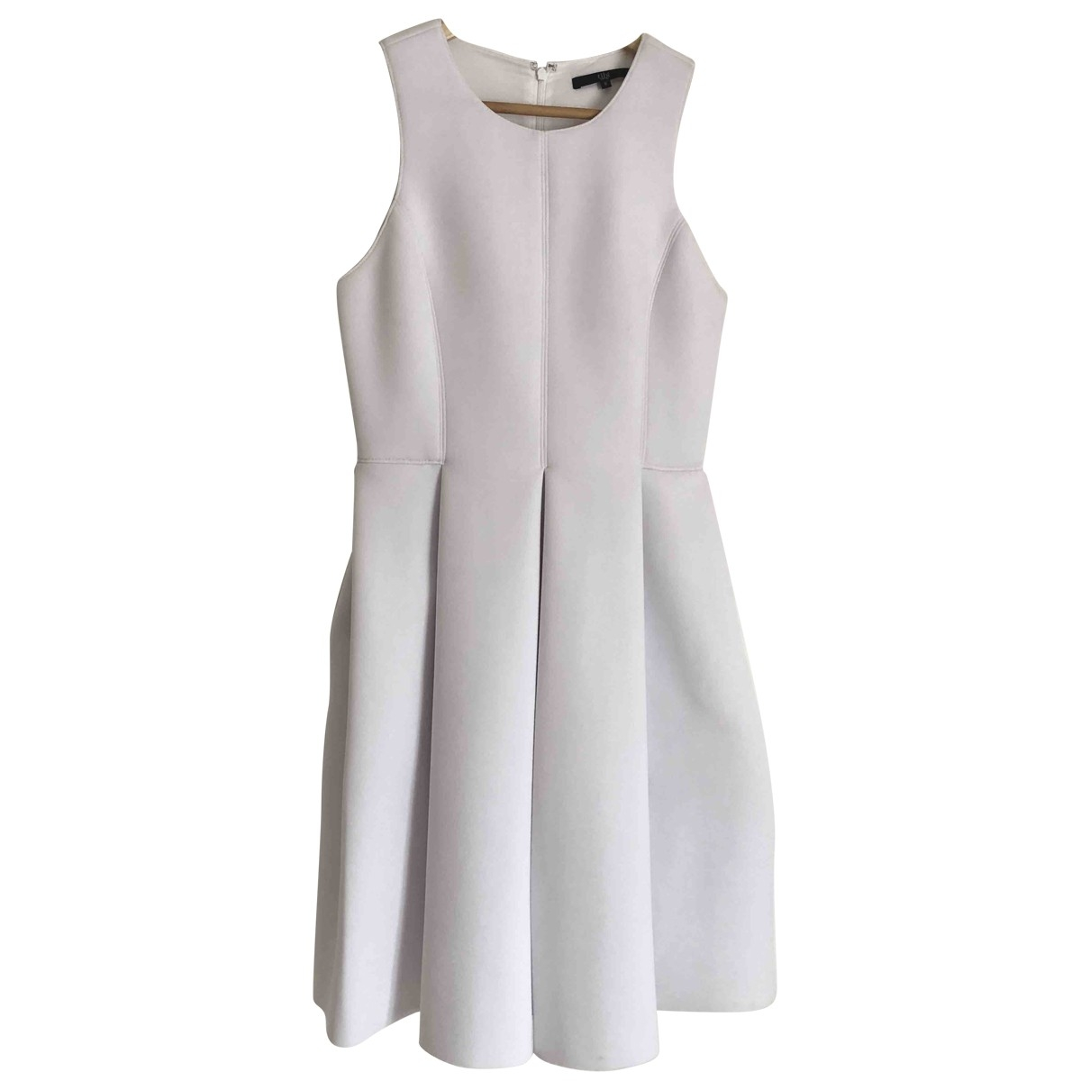 Tibi \N Kleid in  Weiss Polyester