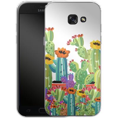 Samsung Galaxy A5 (2017) Silikon Handyhuelle - Cacti Land von Mukta Lata Barua