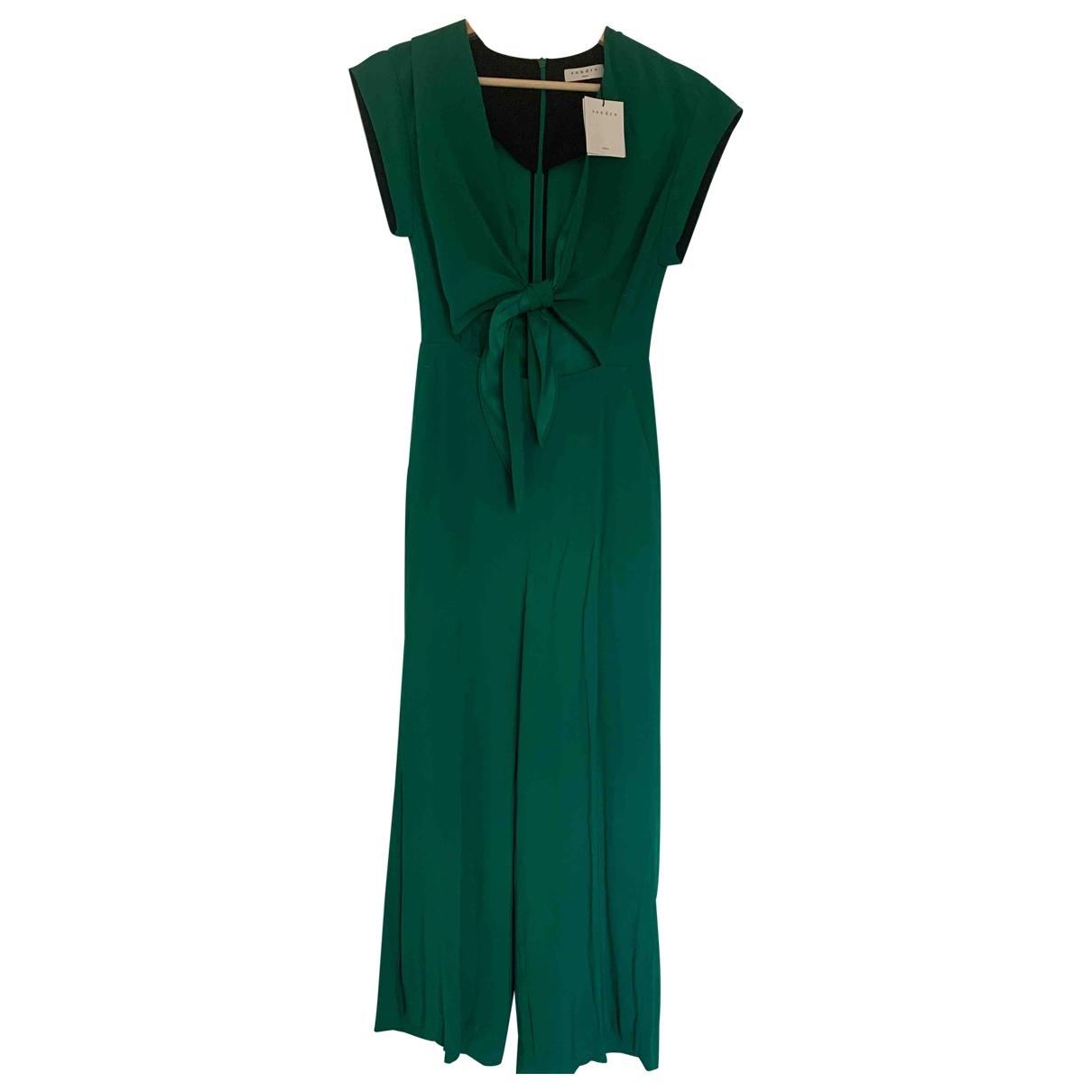 Sandro \N Green jumpsuit for Women 1 0-5