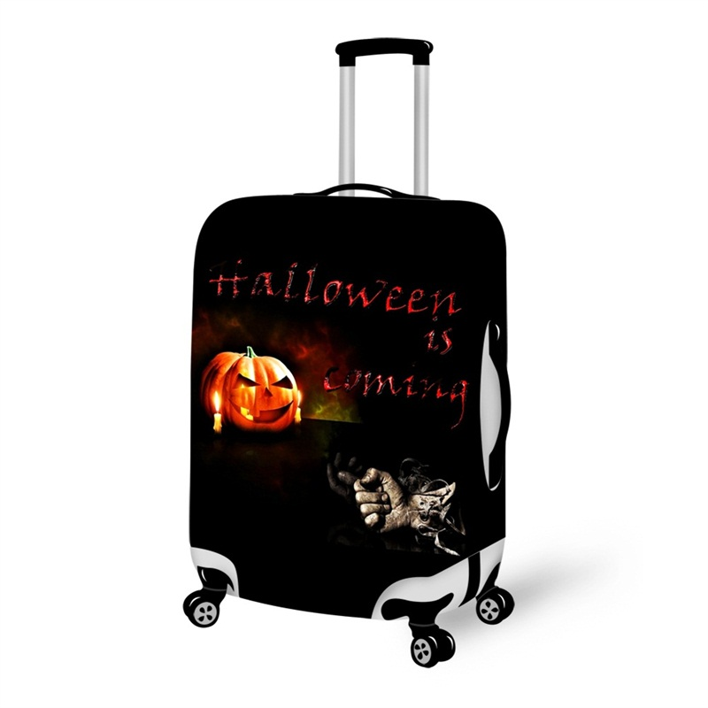 Halloween is Coming Waterproof Suitcase Protector for 19 20 21