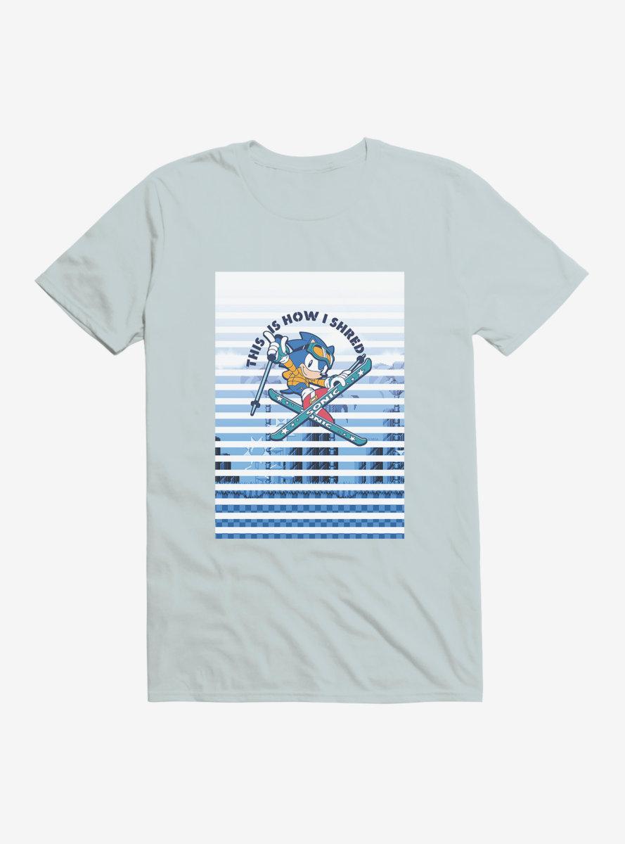 Sonic The Hedgehog Sonic Skiing T-Shirt