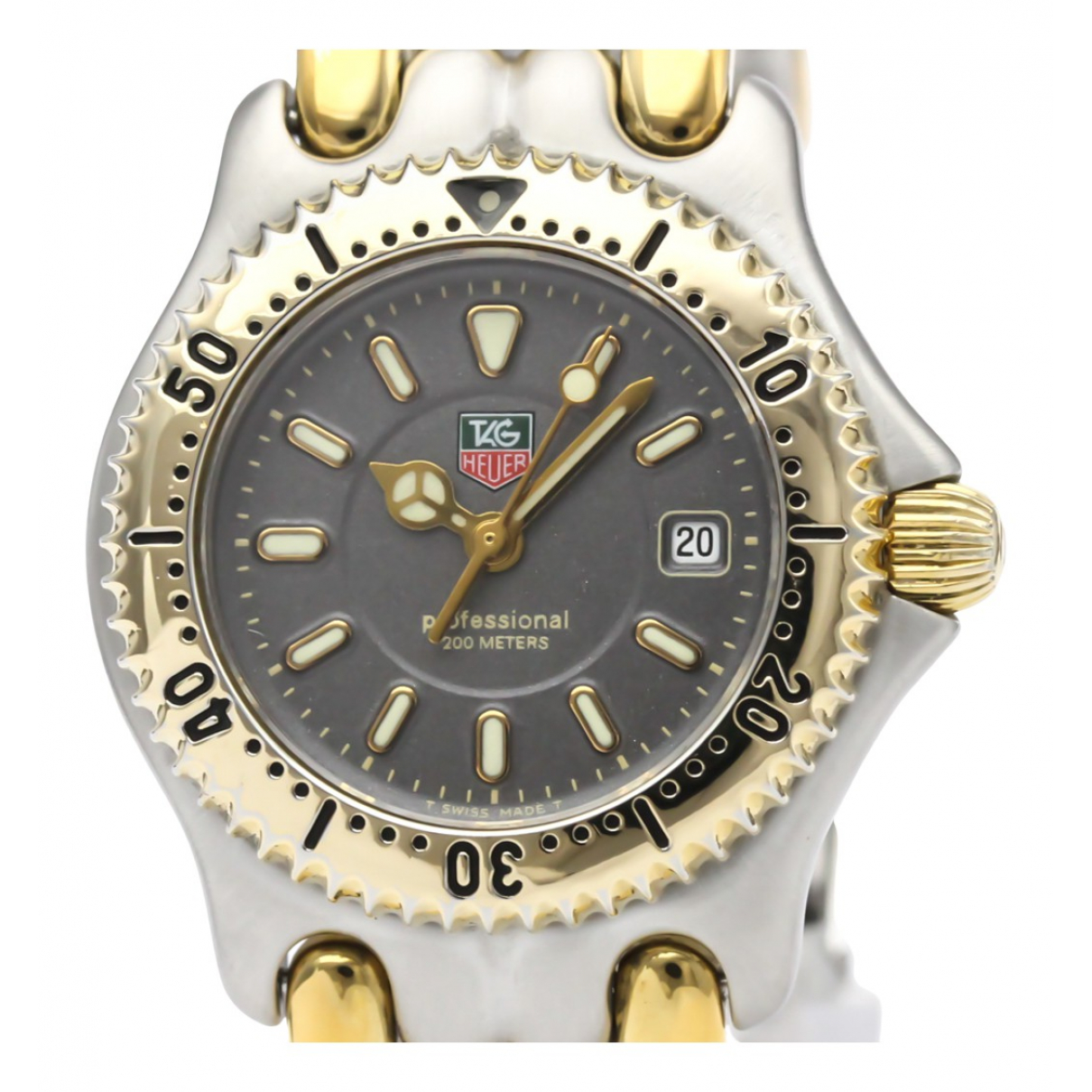 Tag Heuer N Grey Gold plated watch for Women N