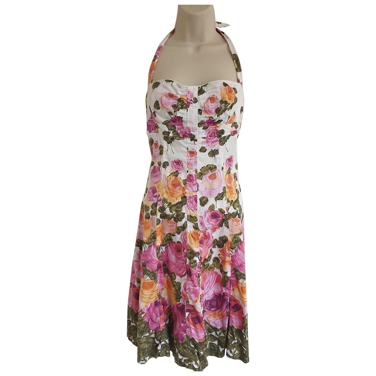Tara Jarmon \N Pink Cotton dress for Women 40 FR
