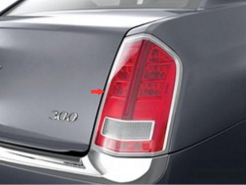 Quality Automotive Accessories Tail Light Bezels Chrysler 300 Base C-Model 11-14