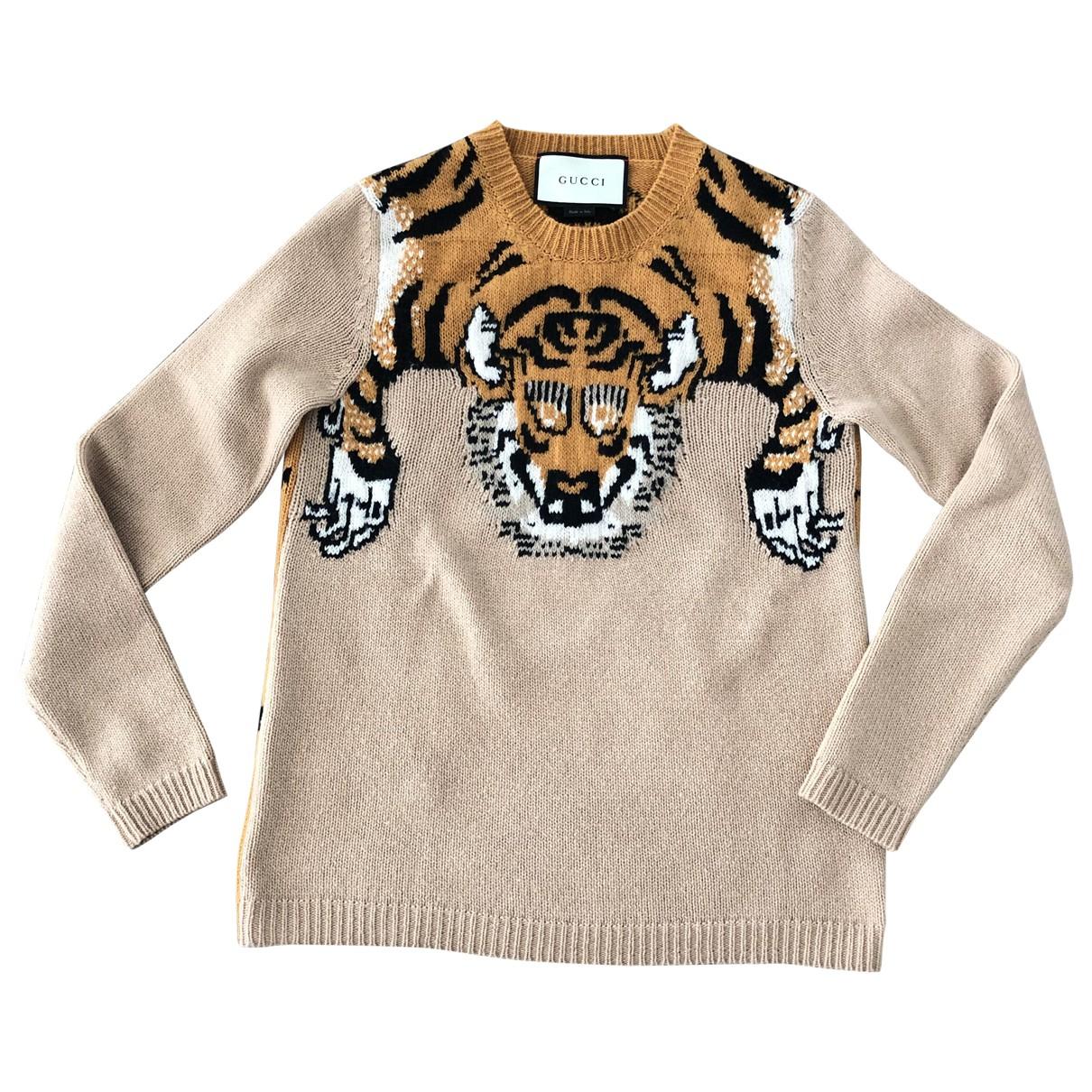 Gucci N Beige Wool Knitwear for Women XS International