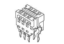 Molex 18-Way IDC Connector Socket Through Hole Mount, 2-Row (1800)