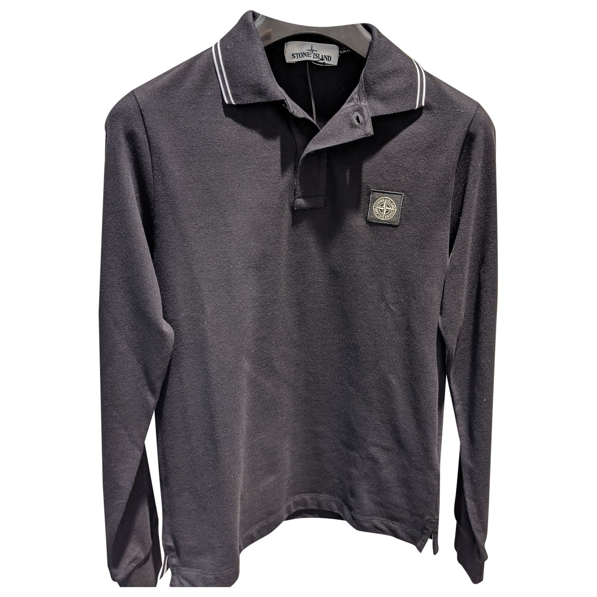 Stone Island N Black Cotton Polo shirts for Men S International