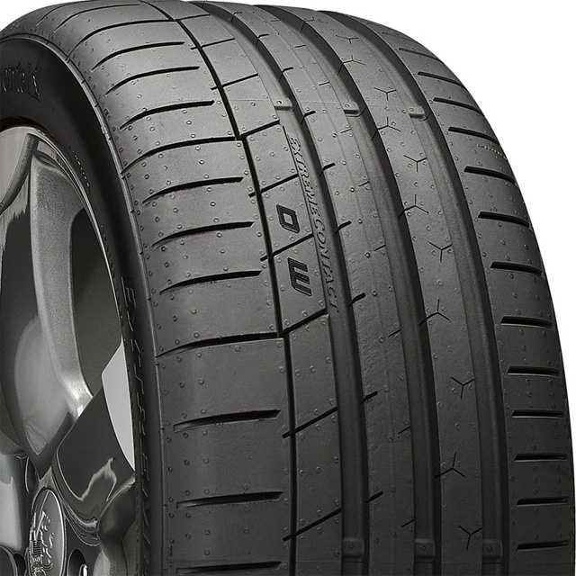 Continental 15507090000 Extreme Contact Sport Tire 225 /50 R17 94W SL BSW