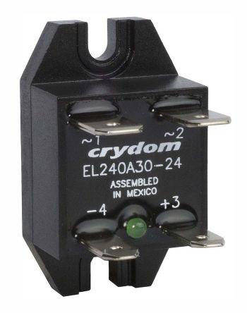 Sensata / Crydom 30 A dc Solid State Relay, Zero Crossing, Panel Mount, 280 V ac Maximum Load