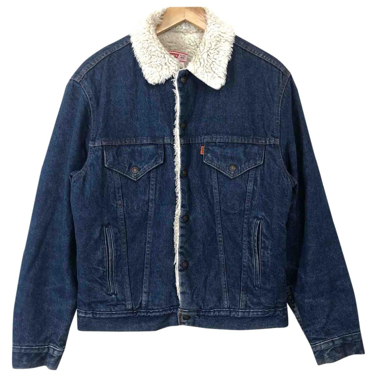 Levis \N Blue Denim - Jeans jacket  for Men 40 UK - US
