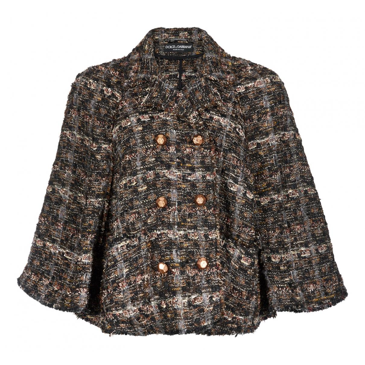 Dolce & Gabbana - Veste   pour femme - marron