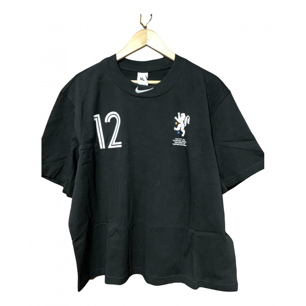 Nike X Off-white - Tee shirts   pour homme en coton - noir