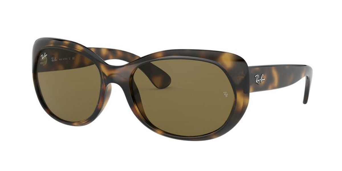Ray-Ban RB4325F Asian Fit 710/73 Women�??s Sunglasses Tortoise Size 59